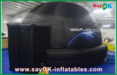Planetario gonfiabile della scuola, tenda gonfiabile a prova di fuoco della cupola della proiezione