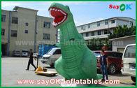 Dinosauro gigante gonfiabile di jurassic park dei personaggi dei